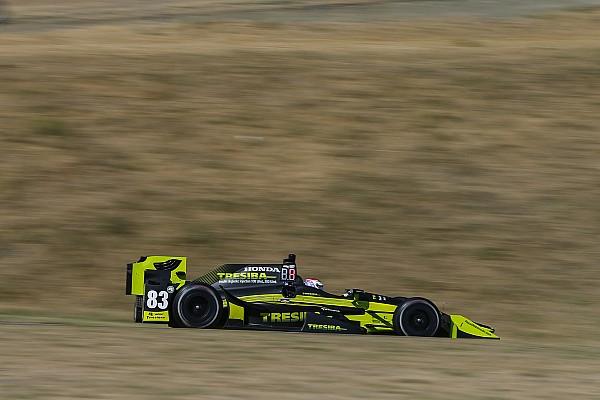 """Carlin está  """"emocionado"""" tras el primer test de IndyCar"""