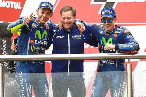 """Rossi: """"Gerüchte über meinen Rücktritt bringen Klicks."""" Jarvis: """"Es wurden lächerliche Dinge geschrieben."""""""