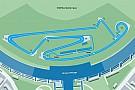 Formel E Streckenlayout für Formel E am Flughafen Tempelhof in Berlin steht