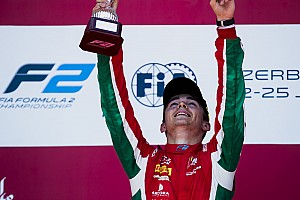 FIA F2 Artículo especial 'Un fin de semana emotivo en Bakú', por Charles Leclerc