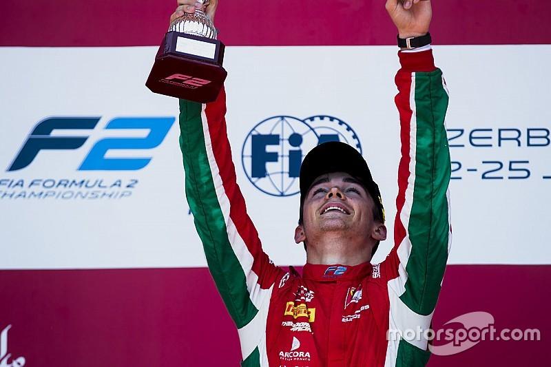 Leclerc dedikasikan kemenangan feature race untuk mendiang sang ayah