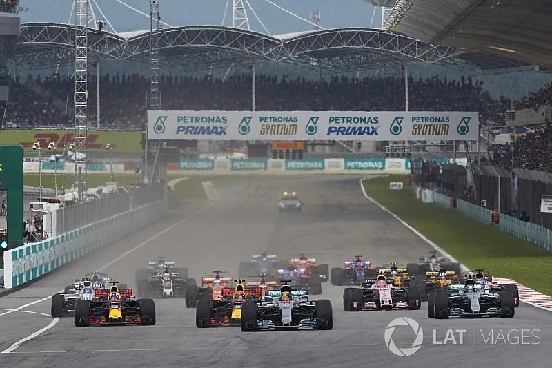 """""""فيا"""" تمنع الفرق من تجفيف أماكن تأهلها على شبكة انطلاق سباق اليابان"""