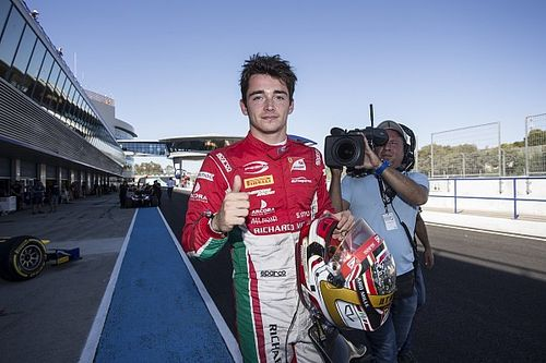 Jerez F2: Leclerc crowned champion after crazy finish