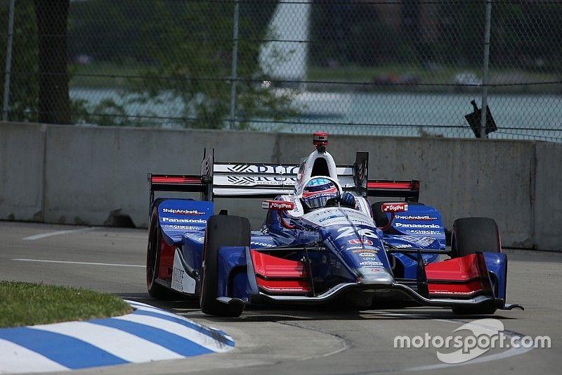 IndyCar-Double-Header in Detroit: Takuma Sato holt Pole für Rennen 2