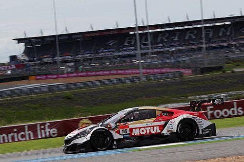Buriram Super GT: Honda takes 1-2 in wet/dry qualifying