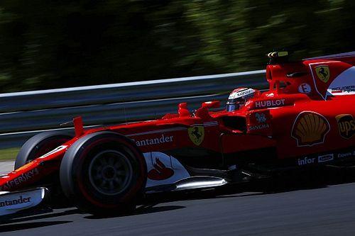 Räikkönen mitigé malgré sa présence en première ligne