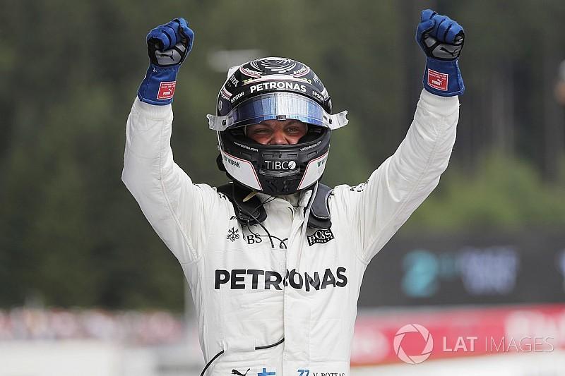 Austrian GP: Bottas beats Vettel amid jump start controversy