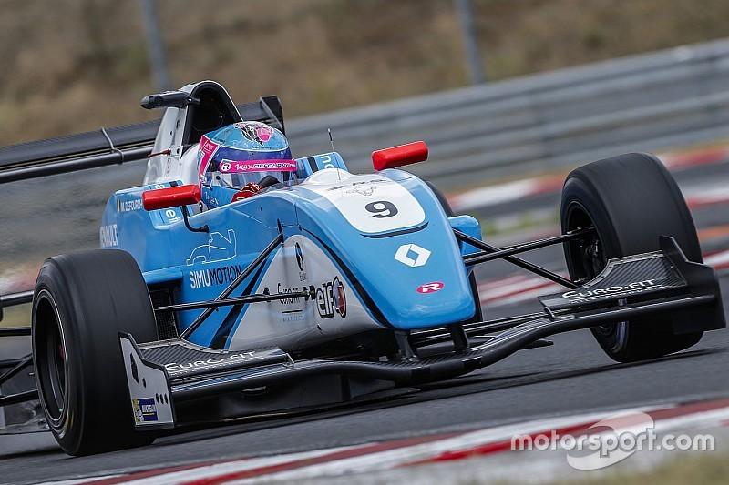 Defourny debutta in F.3 Europea al Nurburgring con Van Amersfoort