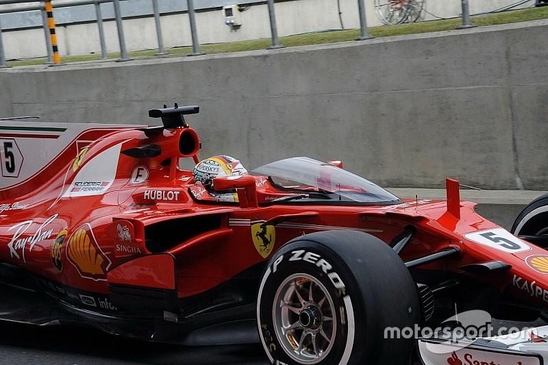 Cockpitschutz-Vergleich: Shield vs. Halo am F1-Ferrari