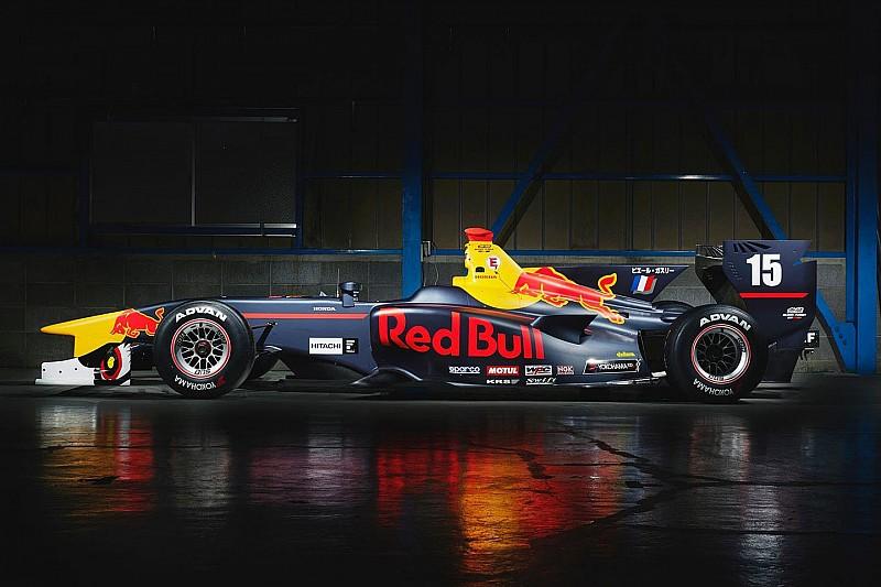 Super Formula в цветах Red Bull: выглядит круче, чем Формула 1