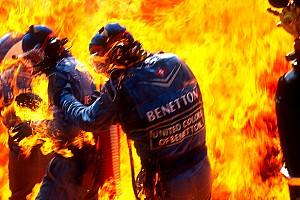 Maga a pokol: az 1994-es tűztenger és dráma az F1-es bokszutcában