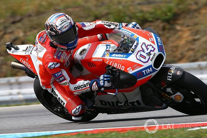 FP2 MotoGP Rep. Ceko: Dovizioso memimpin, Rossi posisi ke-14