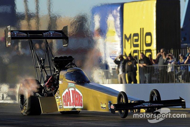 Pritchett sets new Top Fuel record