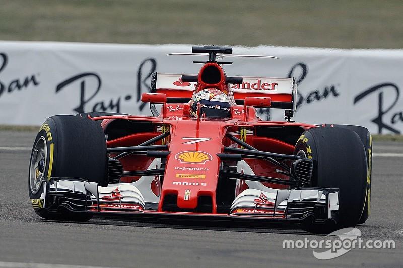 莱科宁完成法拉利新赛车首航