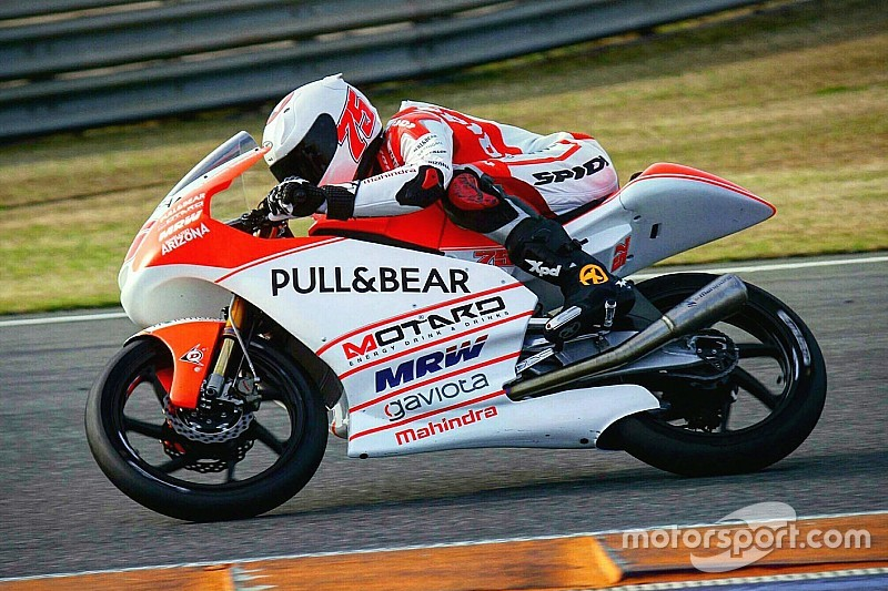Aspar Mahindra, Peugeot riders complete Valencia Moto3 test