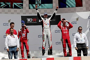TCR Race report Borković takes his first International Series victory