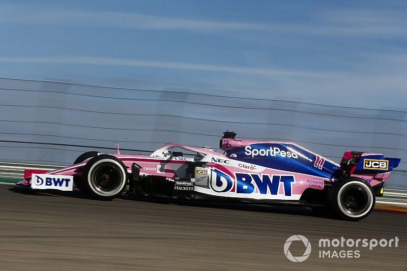 Pérez largará el GP de Estados Unidos desde el carril de pits