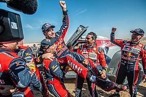 Sainz y Cruz, leyendas: ganan su tercer Dakar