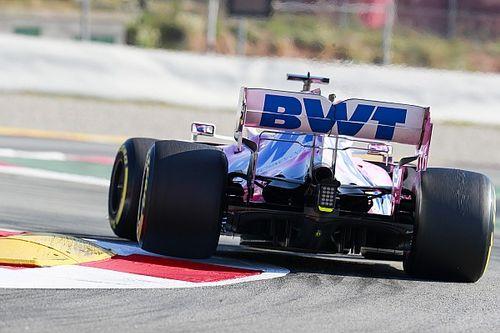 "Pérez conduce ""como si tuviera un control de tracción"""