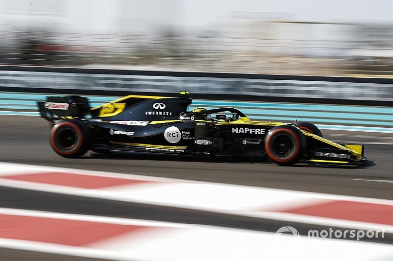 Abu Dhabi'de günün pilotu Hulkenberg!