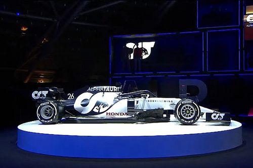Así fue la presentación del primer AlphaTauri de Fórmula 1!