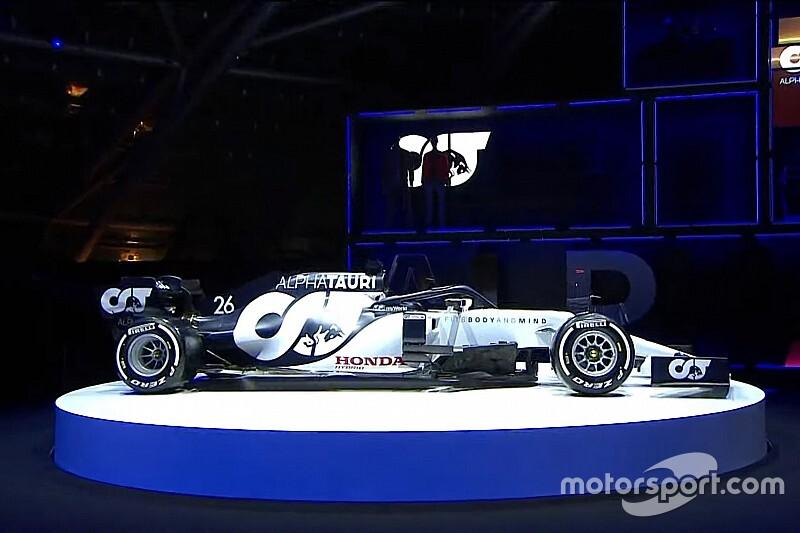AlphaTauri presenta su imagen para F1