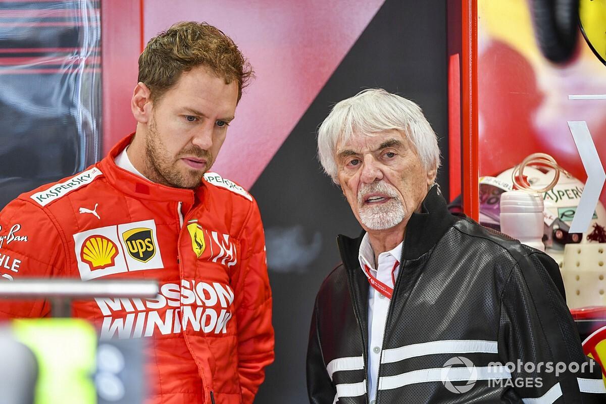 Экклстоун посоветовал Феттелю уйти в McLaren