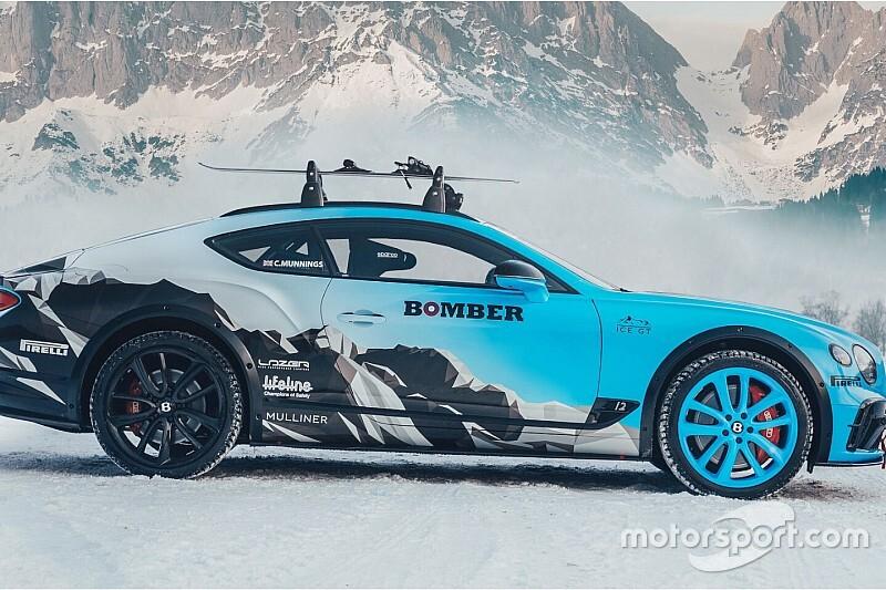 Munnings Bentleyem na lodzie