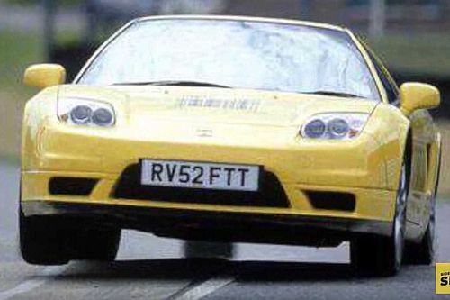 Este Honda NSX fue de un piloto de F1. ¿Adivinas cuál?