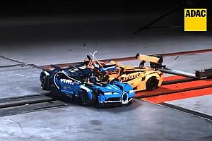 Vidéo - Des crash-tests... de voitures Lego!