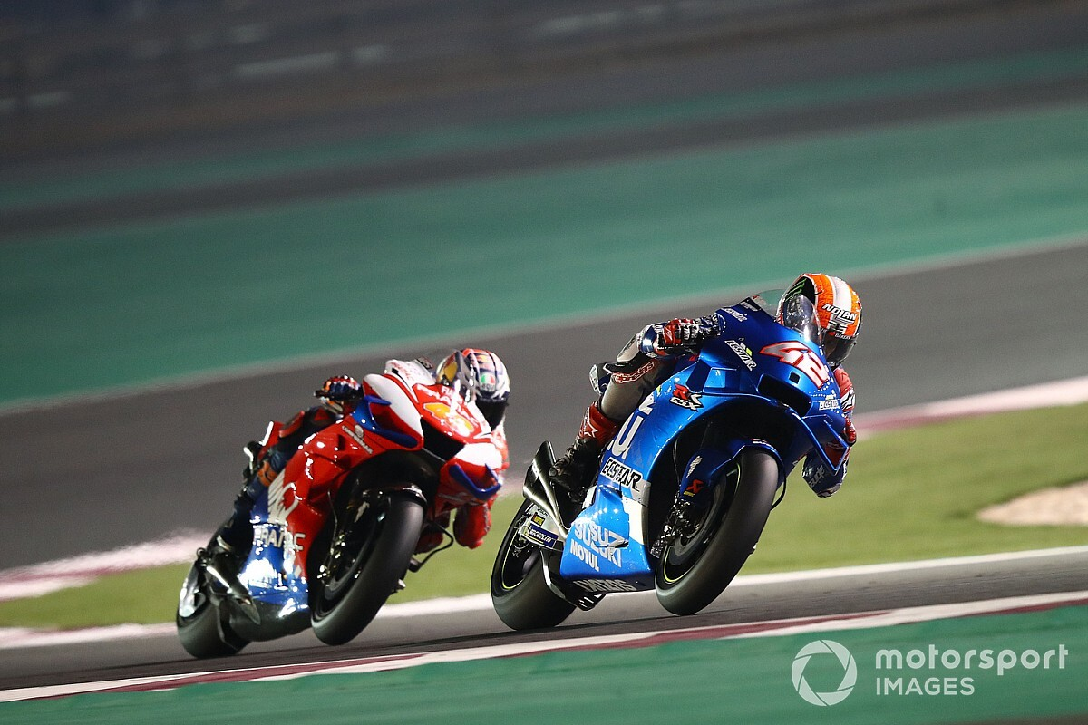 "Rins ""annoyed"" by claims Suzuki is easy to ride"