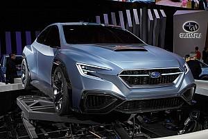 A Mercedes-AMG A45 teljesítményét célozná meg a WRX STI boxermotorjánál a Subaru