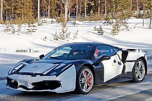 Rejtélyes hibrid Ferrari prototípus tűnt fel az utakon