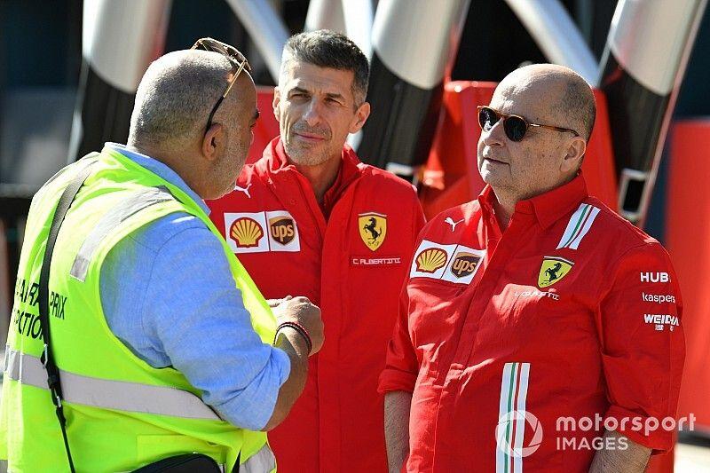 Colajanni, Ferrari'ye geri döndü