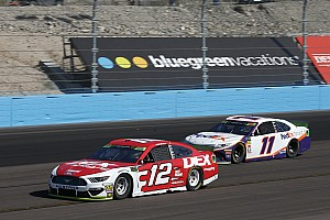 "Blaney gambles, but two-tire call ""not enough"" to advance"
