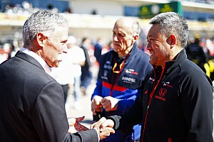 "Carey ""comfortable"" with new F1 deal talks"