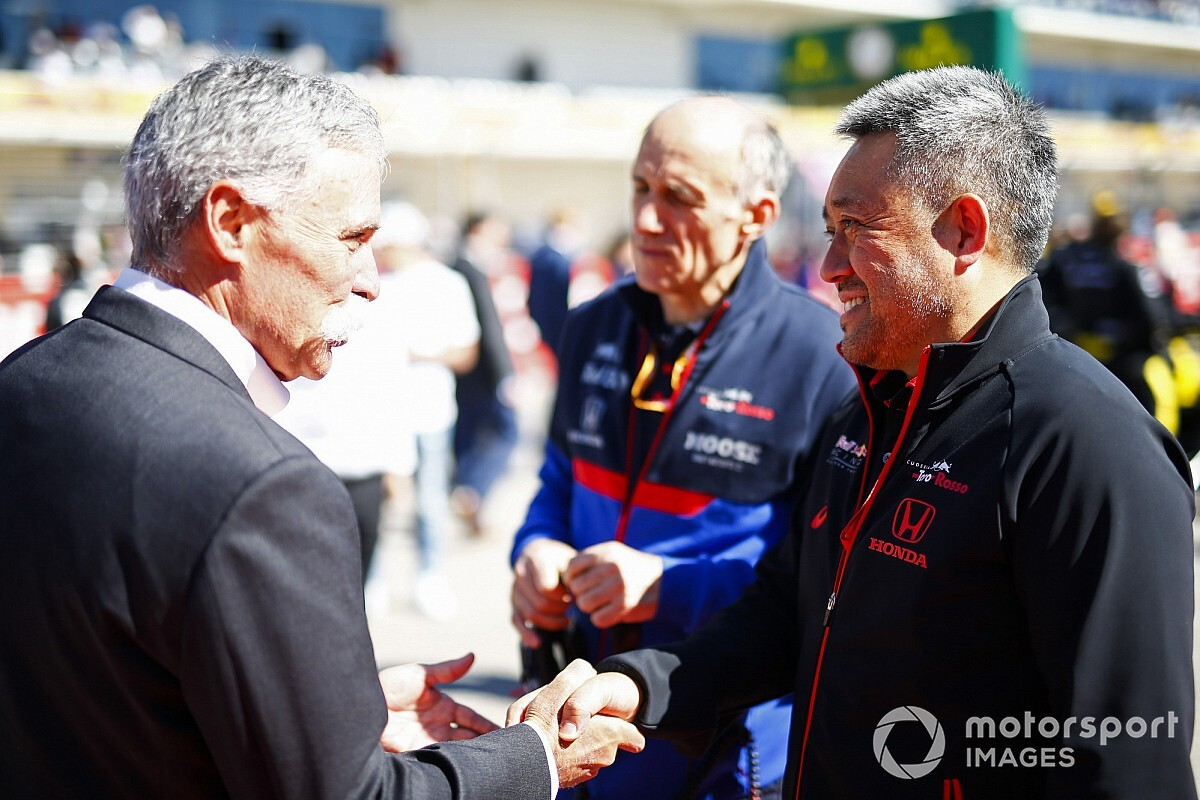 Carey 'comfortable' with new F1 deal talks