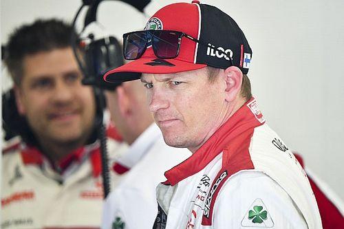 Testupdate 18u: Raikkonen topt en ziet rood, problemen Bottas