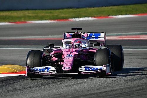 Pérez supera Ricciardo na 2ª manhã da pré-temporada da F1 2020