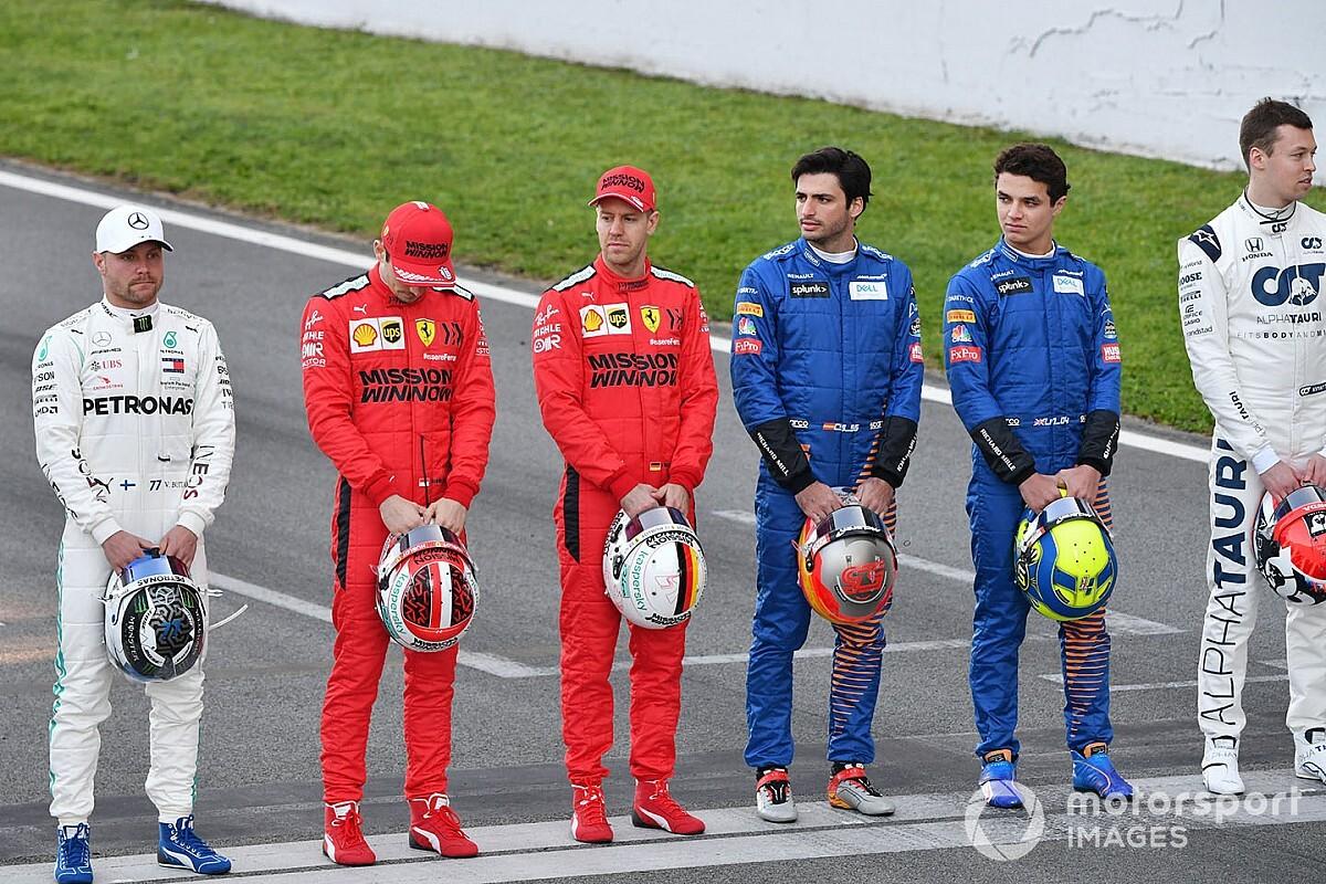 Гонщики Ф1 не включили Феттеля, Боттаса и Норриса в десятку лучших