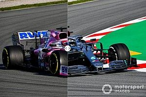 El nuevo Racing Point, ¿una copia del Mercedes 2019?