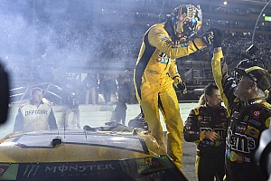 Kyle Busch wins Homestead finale, claims second Cup title
