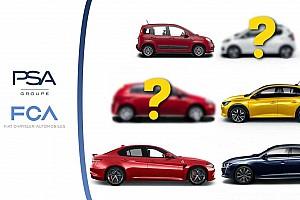 Fusion FCA / PSA - Les voitures qui pourraient naître de l'union