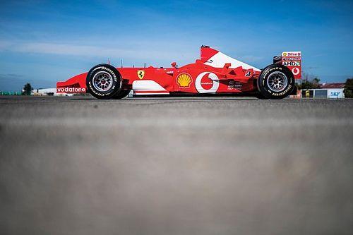 Ferrari Schumachera sprzedane za ponad 6,5 miliona dolarów