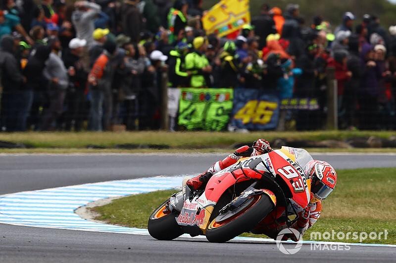 Marquez wygrywa, wypadek Vinalesa