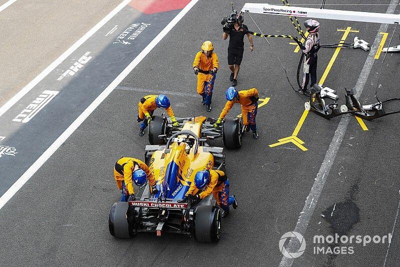 "FIA: McLaren unsafe release ""not possible to determine"""