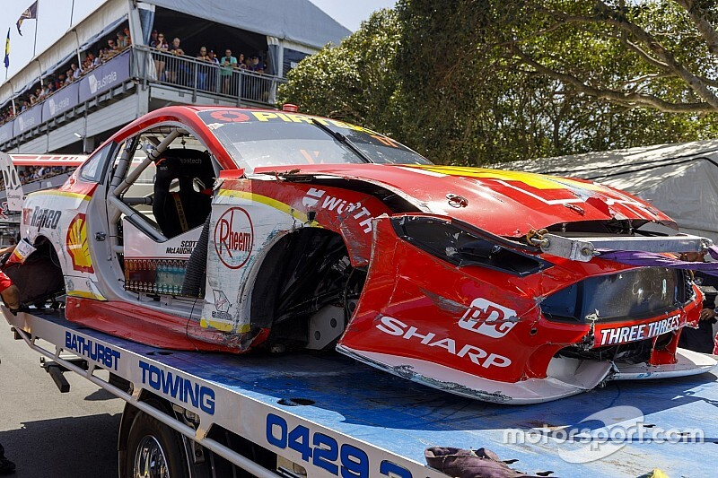 McLaughlin ruled out of Sunday race, surprised by crash