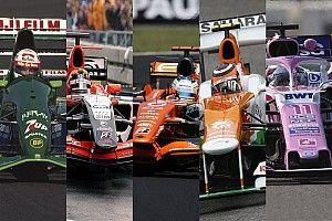 Galería: la evolución histórica desde Jordan hasta Racing Point