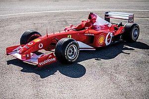 Ferrari de Schumacher superada por Pagani Zonda en subasta de F1