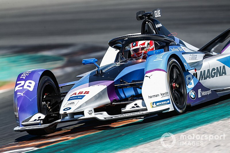 BMW newcomer Gunther ends Valencia Formula E test on top